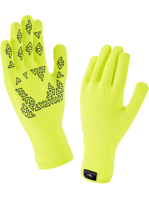 Sealskinz Ultra Grip Gloves Hi Vis Yellow